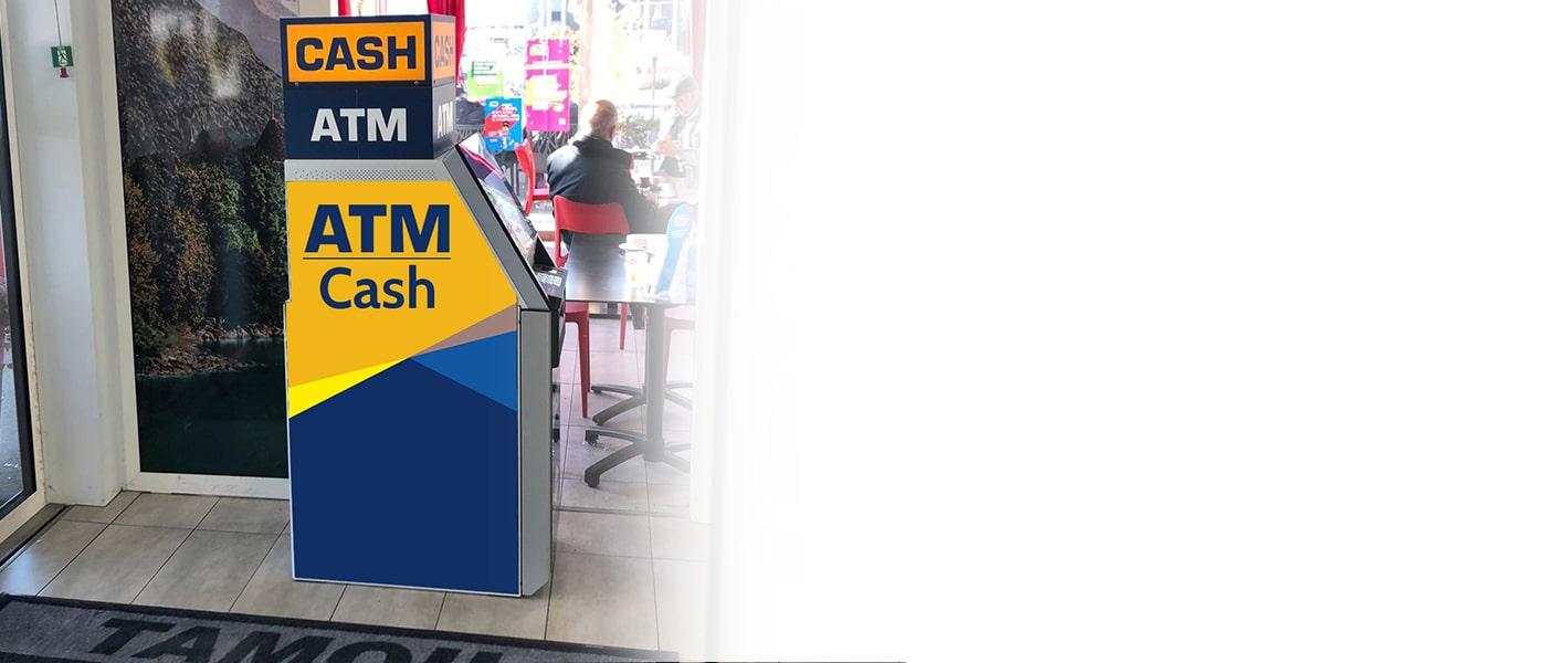 Bieten Sie Ihren Kunden einen zusätzlichen Service mit Ihrem eigenen Euronet-Bankomaten an Ihrem Standort.