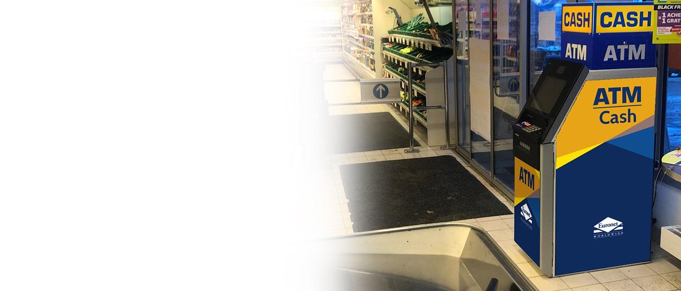 Finden Sie mit unserem Bankomat-Konfigurator heraus, ob sich Ihr Unternehmen bzw. Ihr Standort für einen Euronet-Bankomaten eignet.